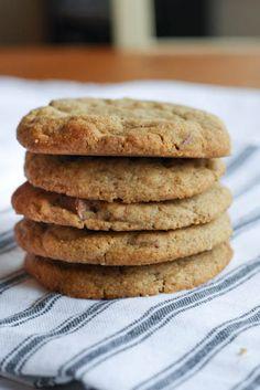 london bakes | hazelnut butter & buckwheat flour chocolate chip cookies