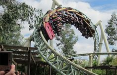 Colossus at Thorpe Park in Surrey, England Fastest Roller Coaster, Best Roller Coasters, Thorpe Park, Summer Bucket Lists, Surrey, Fair Grounds, England, Europe, Activity Days
