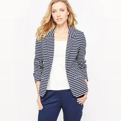 La Redoute Womens Striped Pique Jacket