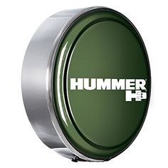 Hummer H3 Logo  32 MasterSeries Hard Tire Cover  Painted Plastic Face Plate with Polished Stainless Steel Ring  32 Shadow Green Metallic * Be sure to check out this awesome product.