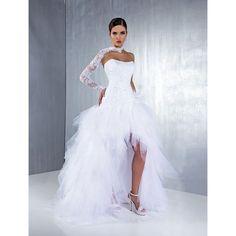robe de mariée tulle courte devant - Recherche Google