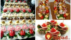 Pohostenie máte vybavené v momente: 21 nápadov na rýchle a chutné jednohubky, ktoré budú ozdobou každého stola! Pasta Salad, Sushi, Japanese, Ethnic Recipes, Appetizers, Crab Pasta Salad, Japanese Language, Sushi Rolls