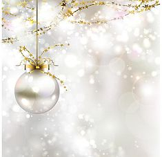 L'argent fond de Noël, Carte De Voeux, Noël, Boule De Noël, l'image de fond