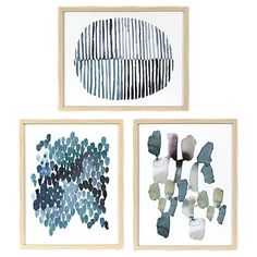 Framed Watercolor Blue Abstracts 16 x 20 3-Pack - Threshold™ - See more at: https://www.decorist.com/finds/116059/framed-watercolor-blue-abstracts-16-x-20-3-pack-thresholdtm/