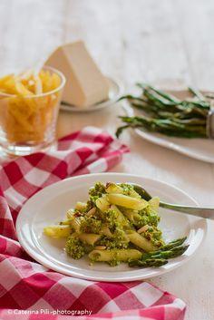 Semplicemente Light: Pasta a base di farina di mais riso e grano saraceno con pesto di asparagi | ricetta gluten free con Bimby