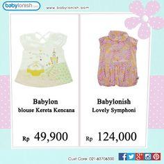 Dapatkan berbagai pakaian anak untuk usia 0-3 tahun hanya di www.babylonish.com  Bersertifikat SNI. Gratis ongkir seluruh Indonesia.