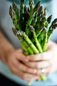 It's asparagus season ... I've eaten so much I have almost turned green :)