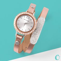 Add a Pavé Slider to your Leather Wrap for extra sparkle! http://www.regal.origamiowl.com/
