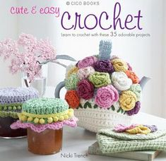 Cute & Easy Crochet, Free book - note sampler: first 18 pages only, but FREE afghan on there which is divine cream with 300+ squares! thanks so xox