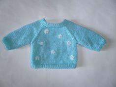 Patron de tricot pour chandail raglan pour poupées Kidz'n Cats et Soy Tu/ Raglan sweater free knitting pattern for Kidz'n Cats and Soy Tu dolls (in French)