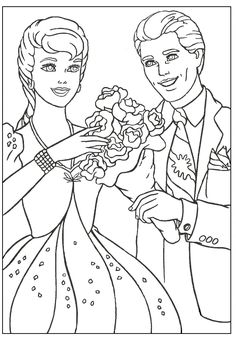 Barbie coloring page.79