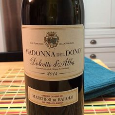 The Madonna del Dono, Dolcetto d' Alba, is a joyful red wine that increases the pleasure of every bite of lamb (and many other spring foods).