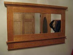 How to make this Craftsman Mirror Frame...