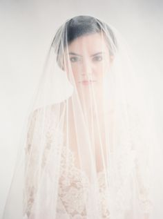 Ivory Veil And Lace Top (Emily Riggs Bridal Collection )