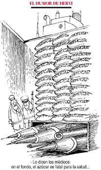 -Lo dicen los médicos: en el fondo, el azúcar es fatal para la salud...