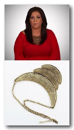 Mob Wives Chicago Style Stealer Crescent Half Moon Choker **Ships Free** $15.00