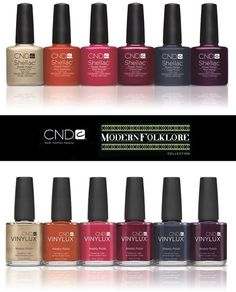 Folklore collection cnd shellac, vinylux