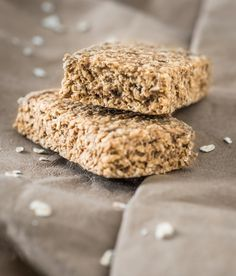 Havermout energy bars