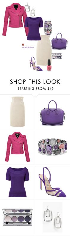 """DDKJQ_2014SprungReady"" by aka85 ❤ liked on Polyvore featuring Kenzo, Givenchy, J Brand, David Yurman, Michael Kors, Manolo Blahnik, Colorescience, Simon Sebbag and OPI"