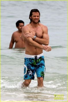 Jared on the Beach