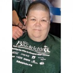 3/23/2014 - I had my head shaved for the 4th time & raised $1121.00 for the St. Baldrick's Foundation.