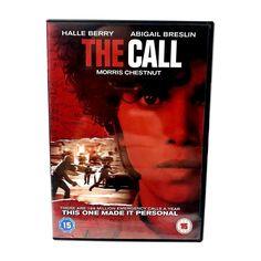 The Call DVD 2013  Very Good disc  Morris Chestnut  Abigail Breslin  Halle Berry