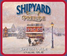 Shipyard Brewing Company Prelude Special Ale - American Craft Beer