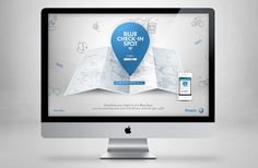 Volkswagen Blue Check-in by Fangchi Gato, via Behance