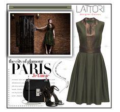 """LATTORI dress"" by water-polo ❤ liked on Polyvore featuring mode, Lattori, H&M, Chloé, polyvoreeditorial et lattori"
