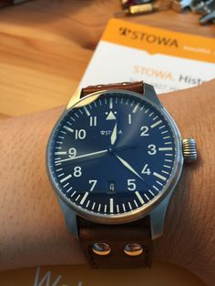 Stowa Flieger Watchtime Limited Edition
