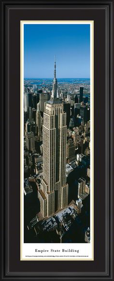This Empire State Building Panorama  was taken by Blakeway Worldwide Panoramas