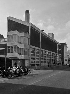 Old Vic Theatre Annexe 3, London SE1, Lyons, Israel, Ellis, Gray, 1958Photo: Simon Phipps