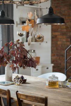 Herbsteinzug | #SoLebIch Foto von Mitglied Leelah #diningroom #Esszimmer #Herbstdeko #autumndecor #diningtable #Esstisch #decor