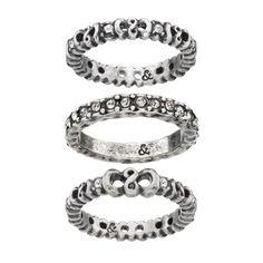 Knot Ring Set www.lolaandgrace.com