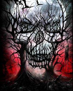 Diamond Embroidery Horror ghost skull Full Square/Round Diamond Mosaic Diamond Painting Picture Rhinestone Landscape Home Decoration Skull Tattoo Design, Skull Tattoos, Body Art Tattoos, Key Tattoos, Foot Tattoos, Tattoo Designs, Dark Fantasy Art, Dark Art, Dark Gothic Art