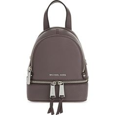 de57649d9f19 Michael Michael Kors Rhea extra-small grained leather backpack ( 210) ❤  liked on