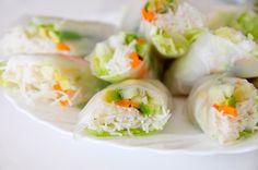 Vietnamesische Frühlingsrollen glutenfrei & vegan