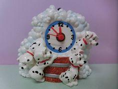 Disney 101 Dalmatians wall mounted clock