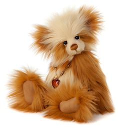 Charlie Bear Savoury Pudding Teddy Bear Cottage - Collectable Charlie Bears