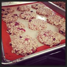 Cranberry Flax Walnut Anytime Cookies... omit cranberries or use fresh fruit/dried fruit instead.