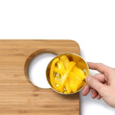 smart bamboo cutting board