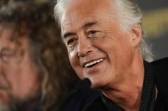 Jimmy Page w/Percy in the background :)