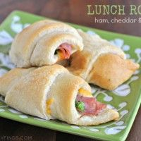 Pillsbury Crescent Rolls with Ham Cheese and Broccoli