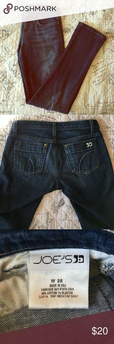 Joe's skinny jeans Slightly worn in. Slim fit but so comfortable made with elastan. Joe's Jeans Jeans Skinny