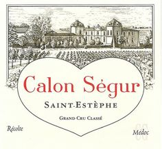 Etiquette Château Calon Ségur 1993