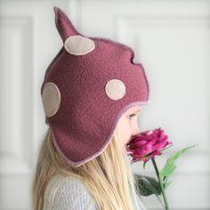 Kids' fleece hat [3-6 yrs] | matoaka on Epla.no