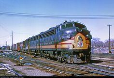 RailPictures.Net Photo: NP 6015D Northern Pacific Railway EMD F7(A) at Minneapolis, Minnesota by Bill Edgar