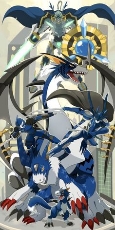 Commission: Team Swordsman029 by seiryuuden on DeviantArt