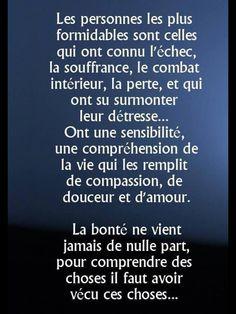 les personnes les plus formidables j'en fais parti . French Quotes, Some Words, True Quotes, Beautiful Words, Decir No, Quotations, Inspirational Quotes, Positivity, Wisdom