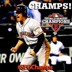The San Francisco Giants are the 2012 #WorldSeries Champs!